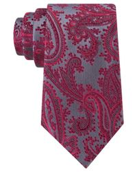 Geoffrey Beene | Purple Men's Platinum Paisley Ii Tie for Men | Lyst