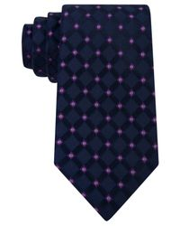 Michael Kors | Blue Michael Men's Satin Neat Tie for Men | Lyst