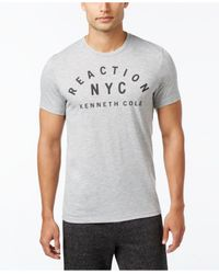 Kenneth Cole Reaction | Gray Men's Downtime T-shirt for Men | Lyst