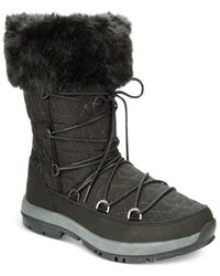 BEARPAW | Black Boo Cold Weather Booties | Lyst