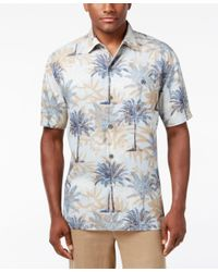 Tommy Bahama | Blue Men's Sol Palmera Silk Shirt for Men | Lyst