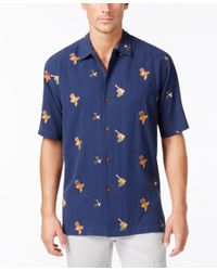 Tommy Bahama | Blue Men's Tropical Fusion Shirt for Men | Lyst