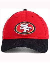 KTZ - Red Women's San Francisco 49ers Sideline Ls 9twenty Cap - Lyst
