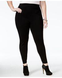 Love Scarlett - Black Plus Size Leggings - Lyst