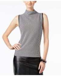 INC International Concepts | Black Mock-neck Sweater, Only At Macy's | Lyst