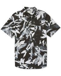 Billabong - Black Sundays X Floral Short Sleeve Shirt for Men - Lyst