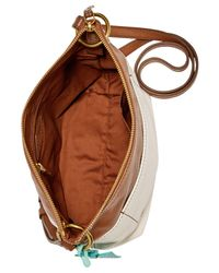 Fossil - Brown Keely Small Crossbody - Lyst