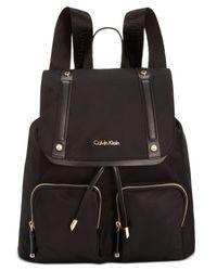 CALVIN KLEIN 205W39NYC - Black Teodora Cargo Backpack - Lyst