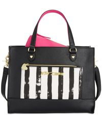 Betsey Johnson | Black Bag In A Bag Tote | Lyst