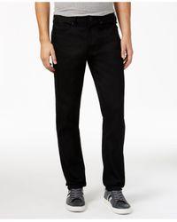 Sean John | Black Men's Mercer Slim-straight Fit Jeans for Men | Lyst