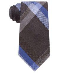 Michael Kors   Brown Men's Dylan Plaid Tie for Men   Lyst