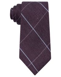 Michael Kors | Purple Men's Randy Grid Tie for Men | Lyst