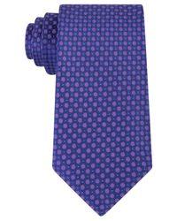 Kenneth Cole Reaction | Purple Men's Bling Dot Slim Tie for Men | Lyst