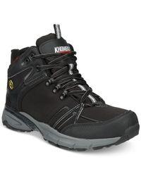 Khombu   Black Men's Spree Lightweight Waterproof Hiker Boots for Men   Lyst