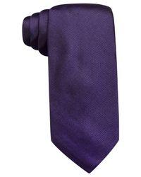 Vince Camuto - Purple Isabella Solid Slim Tie for Men - Lyst