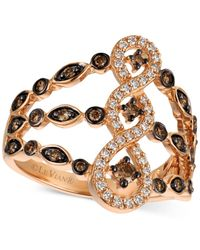 Le Vian | Metallic Diamond Ring (1/2 Ct. T.w.) In 14k Rose Gold | Lyst