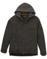 Billabong | Multicolor Men's Barlow Coat With Faux-sherpa Lining for Men | Lyst