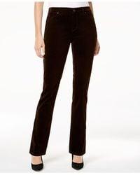 Charter Club | Brown Lexington Corduroy Straight-leg Pants | Lyst