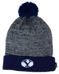 Nike - Blue Heather Pom Knit Hat - Lyst