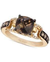 Le Vian | Metallic Chocolate Quartz® (1-3/4 Ct. T.w.) And Diamond (1/3 Ct. T.w.) Ring In 14k Gold | Lyst