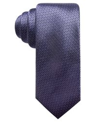 Alfani - Purple Argyle Slim Silk Tie, Created For Macy's for Men - Lyst