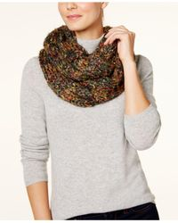 Steve Madden - Multicolor Chunky Confetti Knit Infinity Loop - Lyst