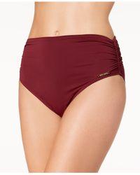 Vince Camuto - Red Convertible High-waist Bikini Bottoms - Lyst