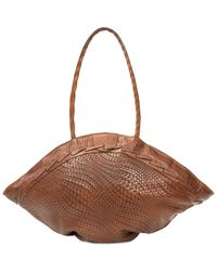 Patricia Nash - Brown Woven Trope Dome Extra-large Shoulder Bag - Lyst