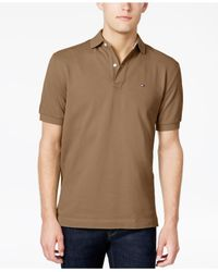 Tommy Hilfiger - Brown Classic-fit Ivy Polo for Men - Lyst