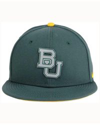 Nike Green Baylor Bears True Reflective Snapback Cap for men