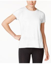 CALVIN KLEIN 205W39NYC - White Performance Epic Pleated-back Top - Lyst