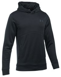 Under Armour | Black Men's Storm Quilted Hoodie for Men | Lyst