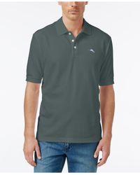 Tommy Bahama | Black Shirt, Emfielder Polo Shirt for Men | Lyst