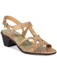 Easy Street | Multicolor Britney Sandals | Lyst