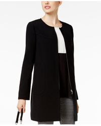 Alfani | Black Zip-front Jacket | Lyst