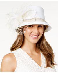 August Accessories | Brown Freesia Cloche Hat | Lyst