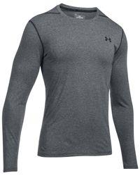 Under Armour | Gray Men's Threadborne Long-sleeve T-shirt for Men | Lyst
