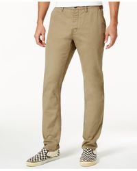 Superdry | Natural Men's Rookie Chino Pants for Men | Lyst
