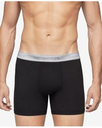 Michael Kors | Black Men's Superior Microfiber Stretch Boxer Briefs for Men | Lyst