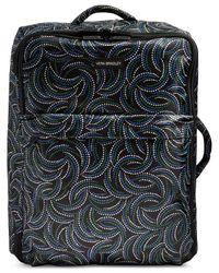 "Vera Bradley | Black 26"" Printed Foldable Rolling Suitcase | Lyst"