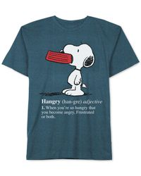 Jem - Blue Hangry Snoopy T-shirt for Men - Lyst