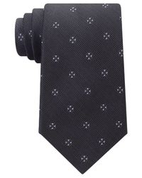 Michael Kors | Black Men's Four Point Neat Tie for Men | Lyst