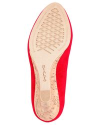 Rialto | Red Celina Wedge Pumps | Lyst