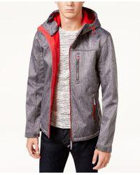 Superdry | Gray Men's Windtrekker Hooded Full-zip Jacket for Men | Lyst