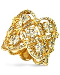 Effy Collection - Metallic D'oro By Effy Diamond Cluster (1-3/4 Ct. T.w.) In 14k Gold - Lyst