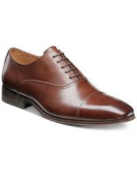 Florsheim | Brown Men's Corbetta Cap-toe Oxfords for Men | Lyst