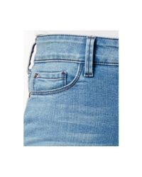 NYDJ Blue Alina Tummy-control Convertible Ankle Jeans