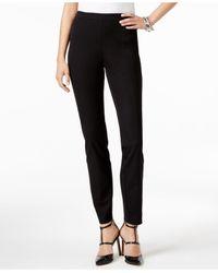 Alfani - Black Skinny Ankle Pants - Lyst