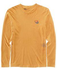 8e74f3ffe96f Lyst - Levi's Men's Long-sleeve Graphic-print T-shirt in Metallic ...