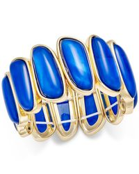 Charter Club | Blue Gold-tone Colored Shell Bracelet | Lyst